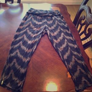 Free People Pants - Free People Twisted Ikat Harem pants